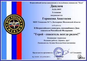 Горшкова Анастасия